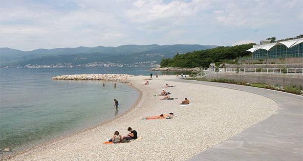 Kantrida plaža