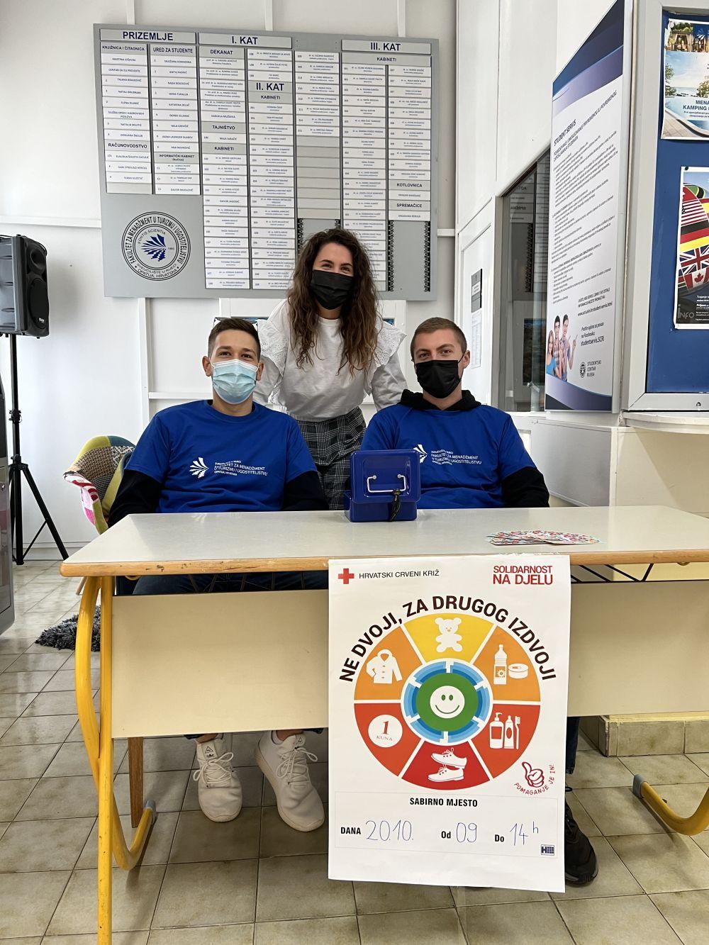 """Volonteri FMTU-a uspješno proveli akciju """"Solidarnost na djelu 2021"""""""