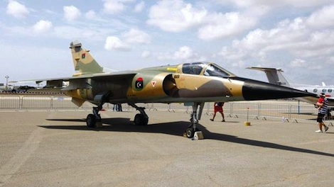Libyan Fighter Jets Hit Suspected Smugglers In Southern