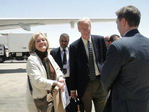 New US Ambassador Deborah Kay Jones Arrives In Tripoli