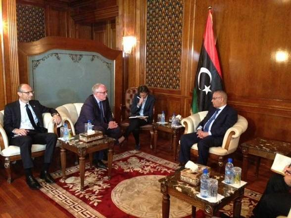 Dutch Foreign Minister In Lightning Visit To Tripoli