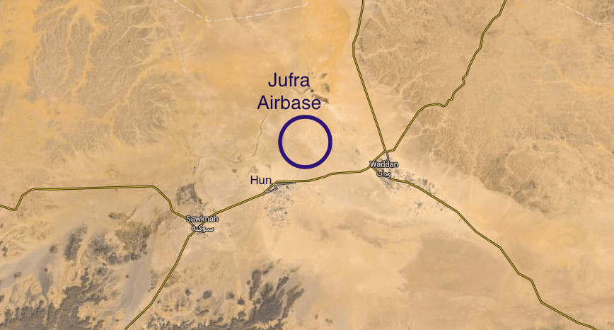 LNA Conducts Airstrikes Against BDB In Jufra Base