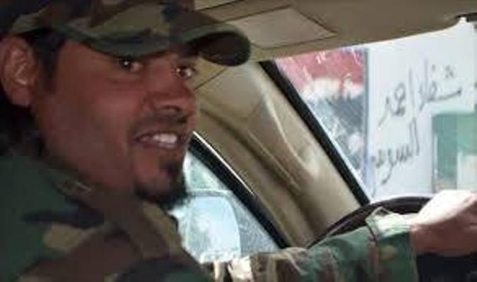 نجاة آمر التحريات بالقوات الخاصة الصاعقة فضل الحاسي من انفجار لغم أرضي في بنغازي