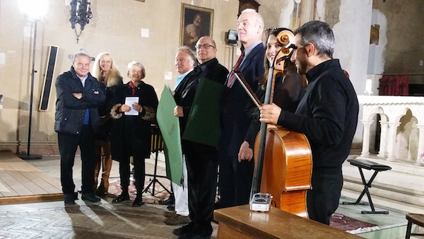 LICA Composers were honored by the City of Perugia for their work as cultural ambassadors.