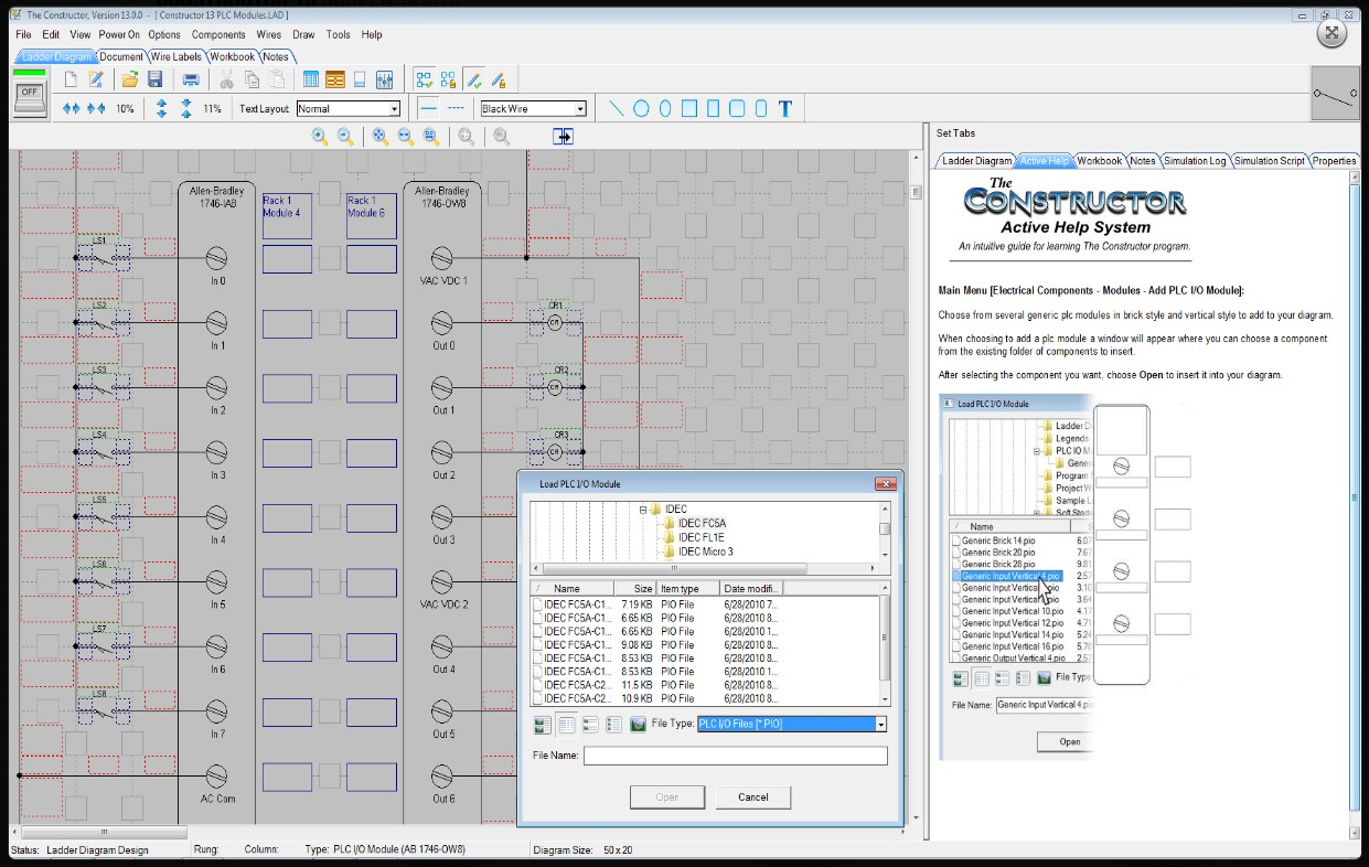 electrical ladder diagram software spa pump wiring the constructor 14 schematic