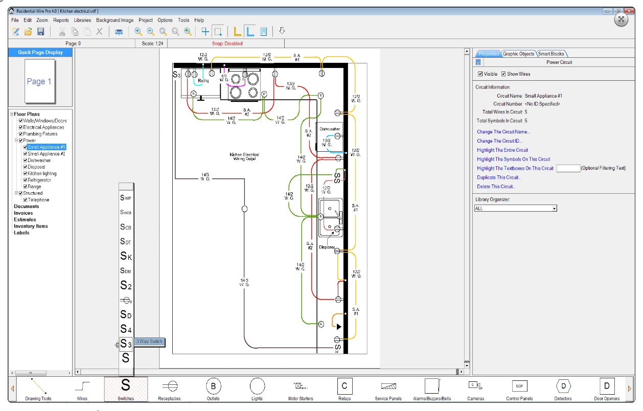 residential wiring diagram software