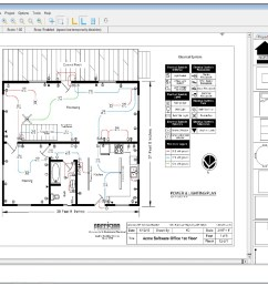 residential wirepro sample floor plan [ 1247 x 792 Pixel ]