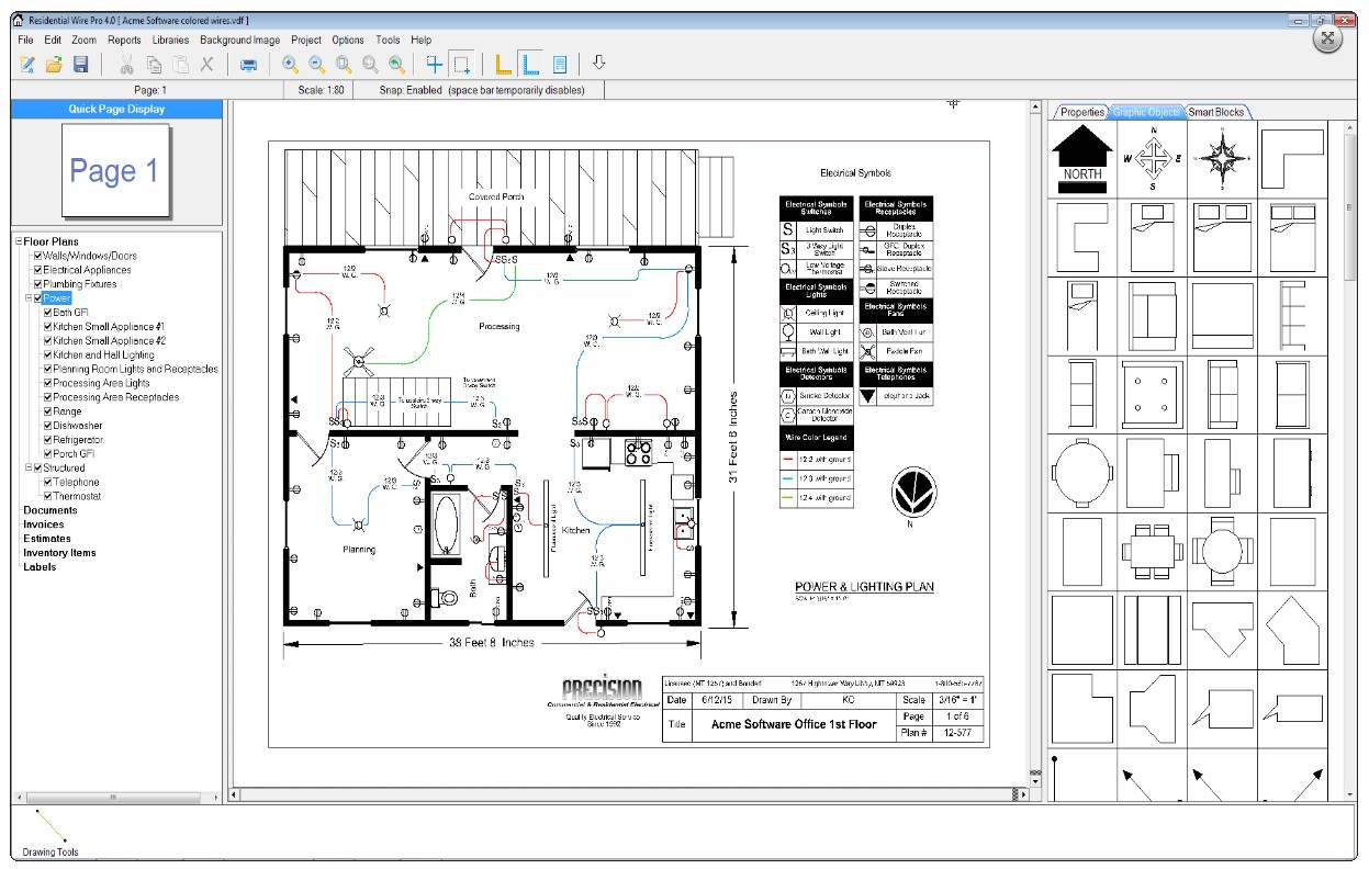 hight resolution of residential wirepro sample floor plan