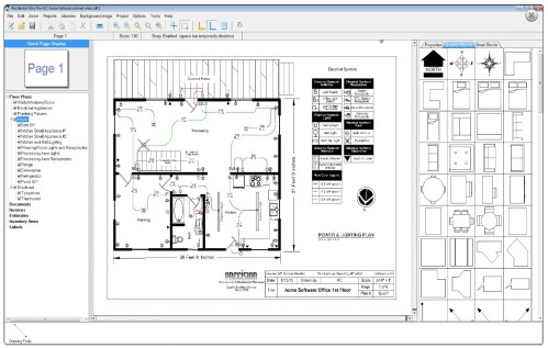 small resolution of residential wirepro sample floor plan