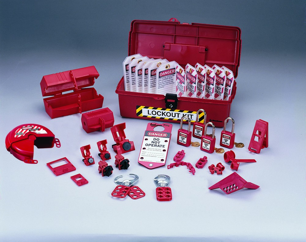 hight resolution of industrial lockout tagout kit