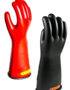 Oel industrial rubber insulating gloves also insulated class    rh licensedelectrician