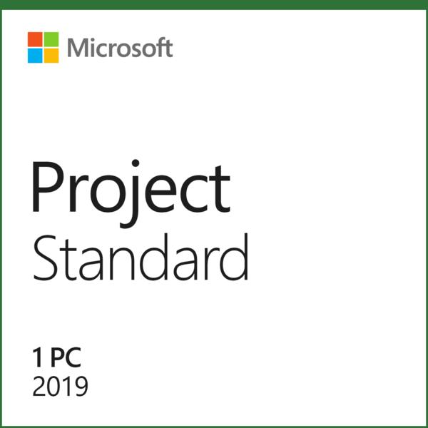 Microsoft Project Standard 2019 32/64 bit