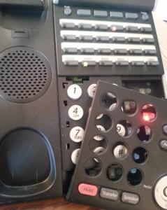 Broken Office Phone