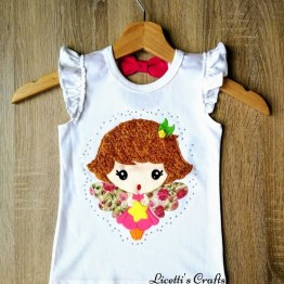 camiseta sin mangas algodón pima Giorgia