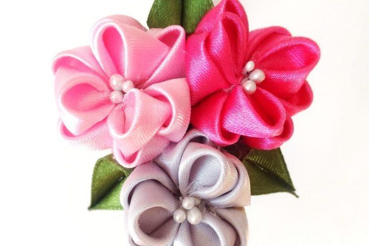 Nuevas Diademas hecha a mano flores rosas