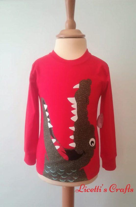 Camiseta manga larga coco red