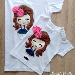 Camisetas Muñecas Kawaii
