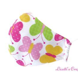 tejido regalos personalizados mariposas rosas