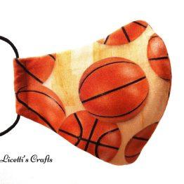 mascarilla higienica deportes baloncesto