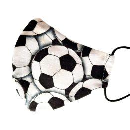 mascarilla higienica deportes balones de futbol