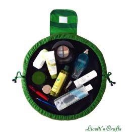 bolsa maquillaje de viaje gigante