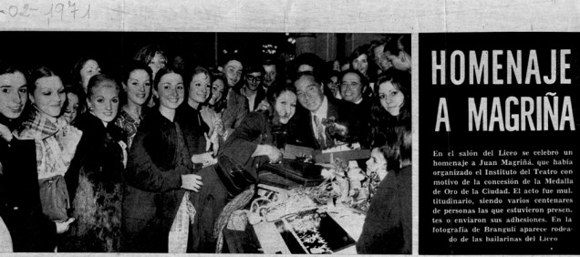 1971-02-15-Homenaje a Magriña y su ballet