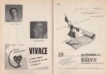 """1954 - G. Teatro del Liceo - Ballets de Barcelona - """"LA MOZA Y EL ESTUDIANTE"""""""