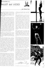 1966 - Gran Teatro del Liceo - ha nacido el Ballet del Liceo