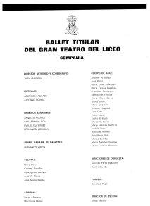ballet de liceo