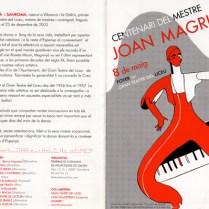 2003 - Centenari del Mestre Joan Magrinyà