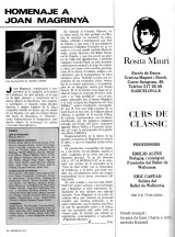 1984 - Homenaje a Joan Magrinyà - revista Monsalvat