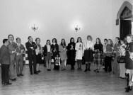 1970 - visita del ballet del Liceu(Antics alumnes ) amb el director Hermann Bonnin i Llinàs-,, J. Magriñà,, C. Pujol,,,,