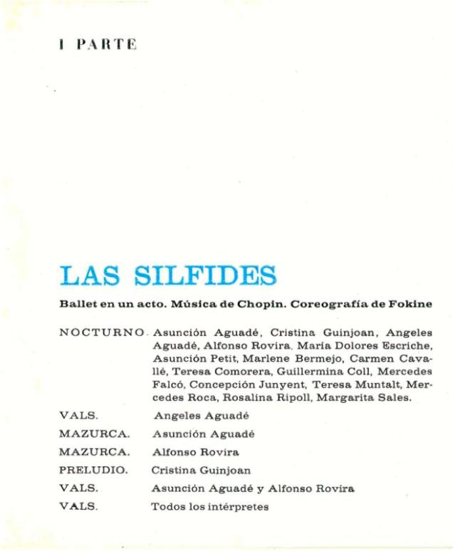 1967 - Palau de la Música - 1ª parte-Las Silfides - Nocturno-vals-mazurca-preludio