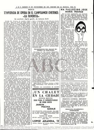 "1971-09-25-ABC-pag. 67- Campoamor Ovetense ""La Favorita"""