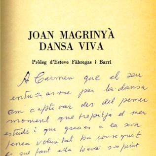 1984-dedicatoria del Mestre