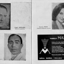 1962-63 - Programa Liceu- Temporada d'opera d'hivern del 3/11/1962 al 11/02/1963Las Bodas de Figaro- Elektra-SOIRÉE VIENNESEa-Don Quijote-eugene Onieguin