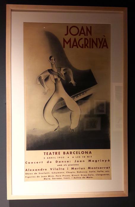 Joan Magrinyà Teatre Barcelona 5-04-1935