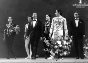 1967-67-11-20-EL DUELO-Anegeles Aguadé, J. Flores, Juan Magriñá, Carmen Cavaller, Alfonso Rovira,