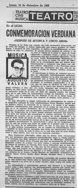cr-1968-12-16-Augusto Valera- teatro del liceo- conmemoracion verdiana-Macbeth-
