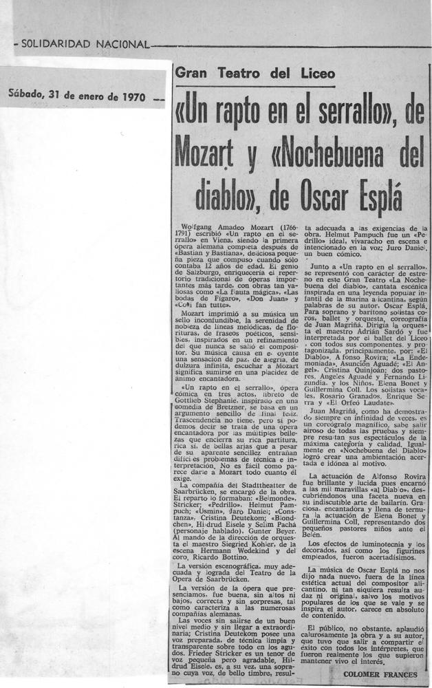1970-01-31-solidaridad nacional-Colomer Frances-Teatro del liceo-un rapto en el serrallo-nochebuena del diablo