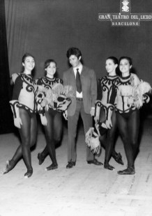 1967-11-28-EL DUELO-Angeles Aguadé, Georges Chakiris, Rosalina Ripoll, Carmen Cavaller