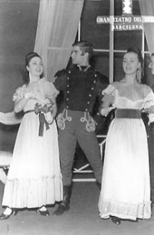 1963-01-03-EUGENE ONIEGUIN-Pilar Sánchez, Juan Sánchez, Teresa Muntalt