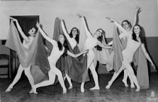 1973-02-11-TANNHÄUSER-Maria Dolors Ramírez, Imma Junyent, Berta Albareda, Maite Casellas, Marta Guerrero i Marisa Salellas
