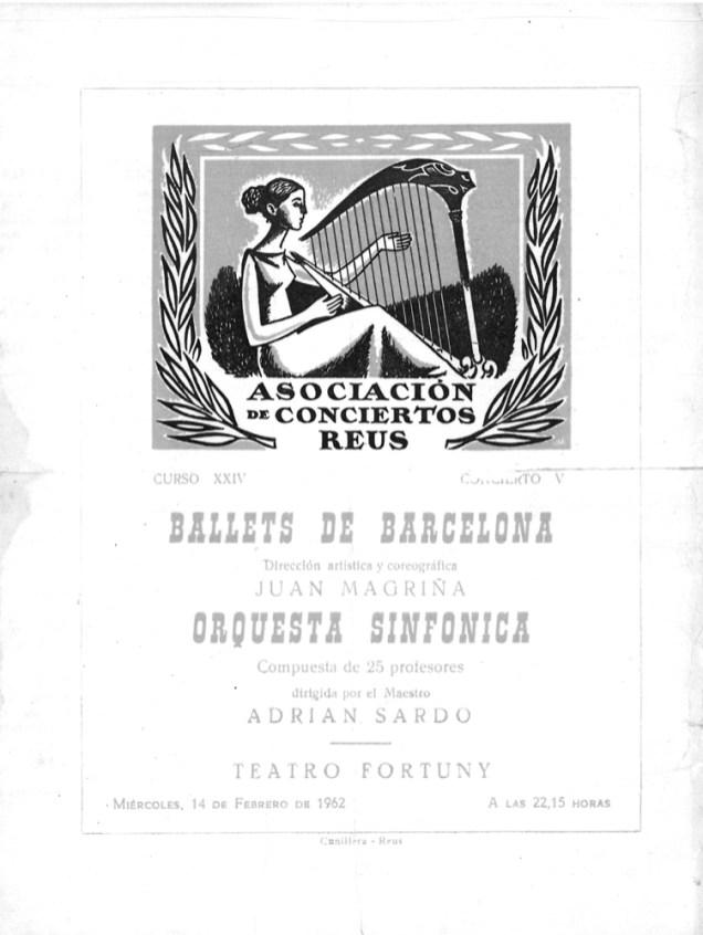 PBB-1962-02-14-Ballets de Barcelona-Teatre Fortuny-Reus-0