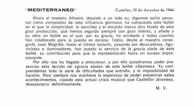 1964-12-10-GAVIOTAS-Mediterraneo(Castellón)-M. V.-cr