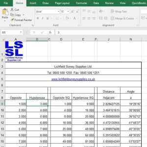 LSSL RAT Spreadsheet
