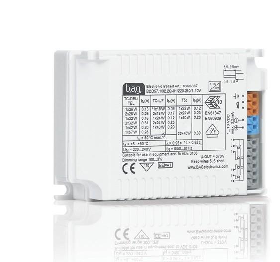 Dimmbare 1-10V EVG / Elektronische Vorschaltgeräte für T8 Leuchtstoffröhren | licht-versand.de