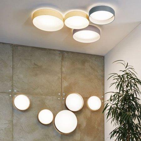 LED Stoff Deckenleuchte Eglo Palomaro 93952 Lichtakzenteat