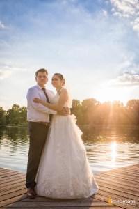 Fotograf Ingolstadt Hochzeit Sonnenuntergang Baggersee Seehaus