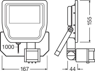 LEDvance Floodlight Sensor